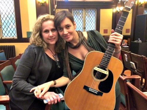 Cindy Stagoff and Jen Chapin. Photo: Erika Bleiberg