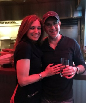 Andrew Pincus with wife  Beth Lawler