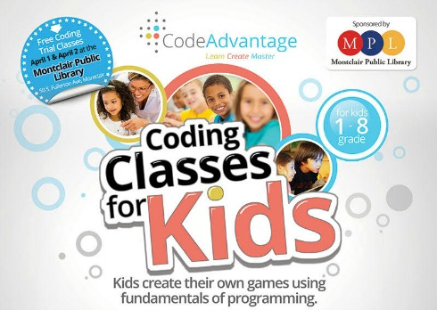 Free Coding Workshop for Kids at Montclair Public Library