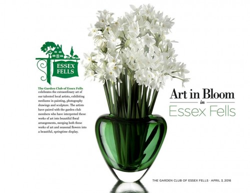 Art in Bloom in Essex Fells