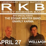 Giveaway: See The Doors' Robby Krieger with The Edgar Winter Band at Wellmont
