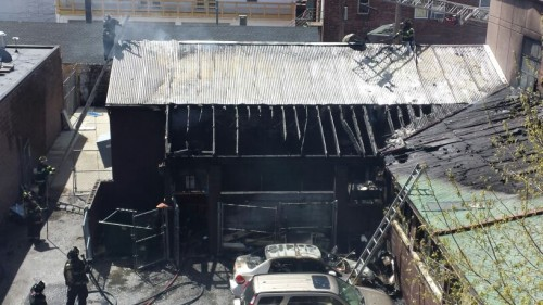 fire at montclair animal shelter