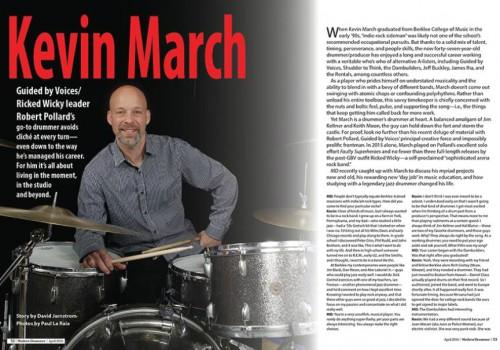 March on Modern Drummer