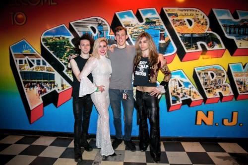 Left to right: Jake Miller, Vanessa Milanese, Nick Van Leer, Nick Vallese