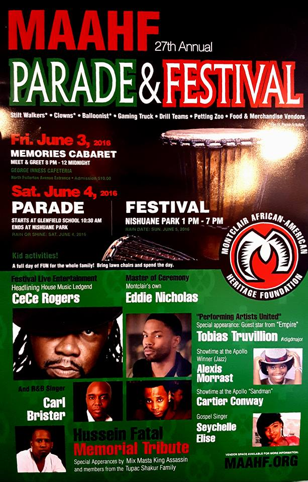 Montclair African American Heritage Parade and Festival