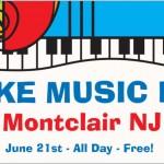 Montclair Celebrates Third Annual Make Music Day
