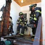 Montclair Fire Department Responded to Two Deck Fires Same Day