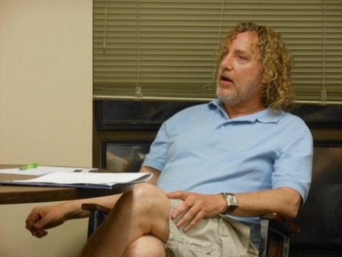 Real estate owner Dick Grabowsky at the June 14 Montclair Township Council meeting