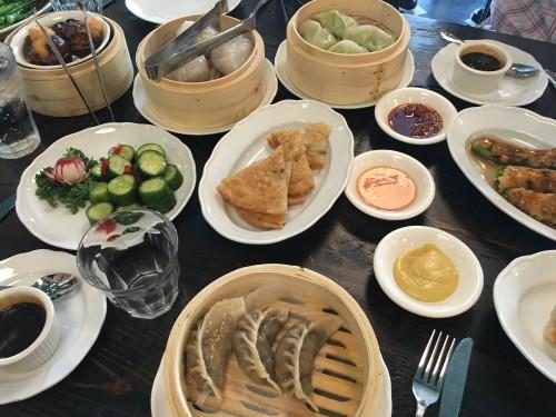 Dim Sum feast at The Nobe East