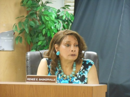 Montclair Fourth Ward Councilor Renée Baskerville, whose suggested appointment to the council's Economic Development Committee was strongly advocated by her constituents.