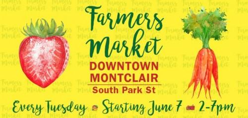 Montclair Center's Farmers Market