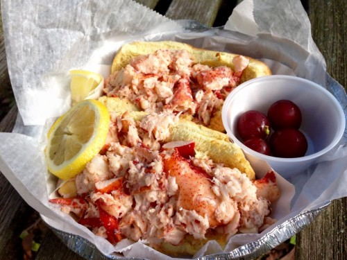Lobster roll from Gus & Co. in Upper Montclair