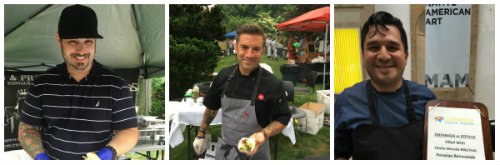 Chefs from Pig & Prince, Fascino and Costanera were on hand.
