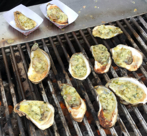 Those winning oysters from Halcyon Brasserie!