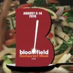 Make Your Reservations! Bloomfield Restaurant Week Returns on August 6