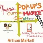 Montclair POP-UP Artisan Market, August 20