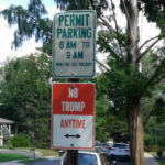 Seen in Maplewood – No Trump Parking