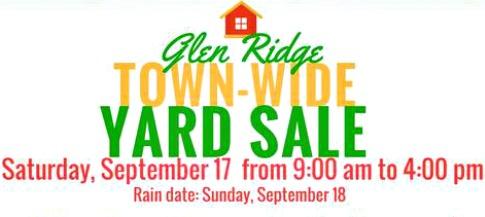 Glen Ridge Town-Wide Yard Sale