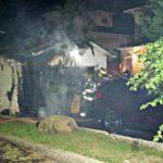 Another Garage Fire in Upper Montclair