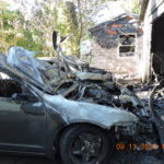 Severe Damage to Garage and Vehicles in Norwood Ave. Fire