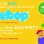 Join The Party! Introducing WeBop, Preschool Classes at Jazz House Kids!