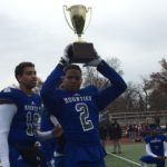 Montclair Mounties Rally to Defeat Bloomfield 30-23 And Reclaim Investors Cup at Thanksgiving Game