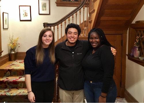Congratulations to Maya Stepansky, Nathan Farrell and Claudia Nketia!