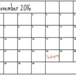 What To Do in November
