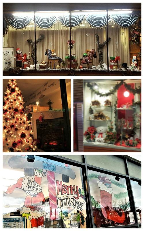Bloomfield Center Holiday Window Display