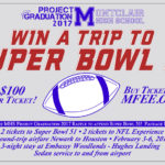 Win An All Expense Paid Trip for Two to Super Bowl 51 When You Support MHS Project Graduation