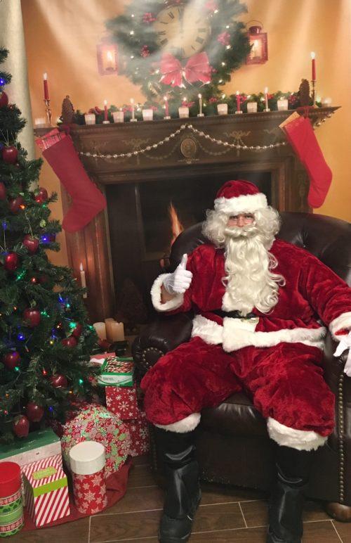 Visit with Santa at Applegate Farm.
