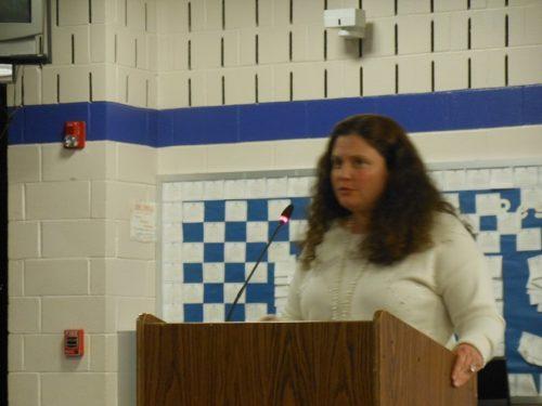 World language consultant Jessica Lasusa