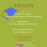 Shop Swoon Saturday and Sunday to Support Montclair's Project Graduation