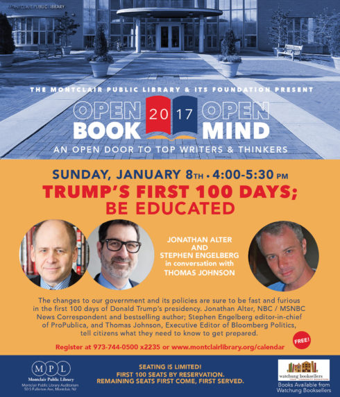Open Book/Open Mind Series: Trump's First 100 Days
