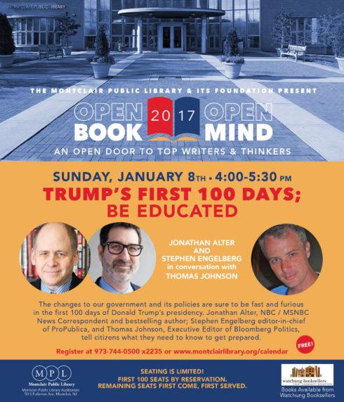 Open Book/Open Mind Series: Trump's First 100 Days