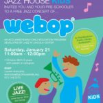 Free Webop Jazz Concert For Little Kids at Montclair Library, 1/21