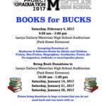 Books for Bucks to Support Project Graduation