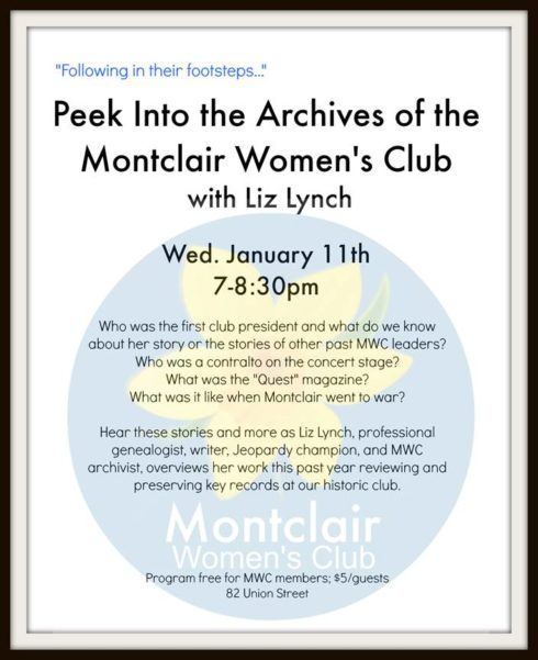 Montclair's Women's Club