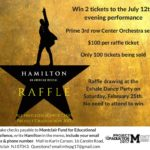 Last Chance! Score Hamilton Tickets and Support Project Graduation