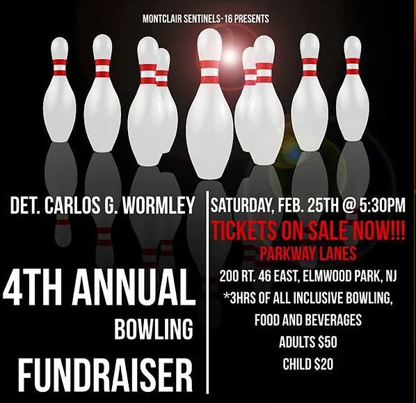 Detective Carlos G. Wormley Memorial Bowling Fundraiser