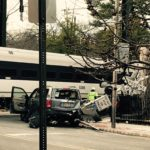 NJ Transit Train Hit Car at Bellevue Avenue Crossing in Upper Montclair Monday