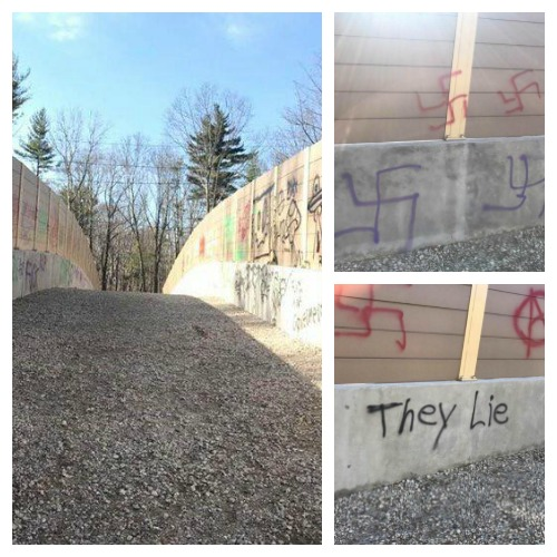 Anti-Semitic Graffiti Discovered at South Mountain Reservation