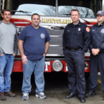 Montclair Fire Department Unveils New Ladder Truck