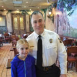 Bradford Student Has Lunch With Montclair's Chief of Police