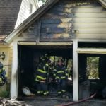 Fire on Macopin Ave. Damages Garage