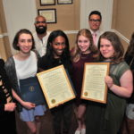 Montclair High School Epee Squad Honored For Winning NJSIAA New Jersey Epee Squad State Championship
