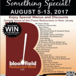 Sixth Annual Bloomfield Restaurant Week Returns August 5-13