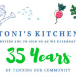 Toni's Kitchen To Celebrate 35th Anniversary with Gala Dinner & Auction