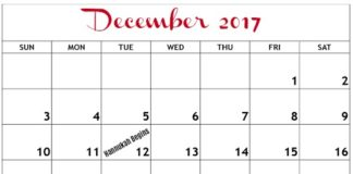 december 2017 events