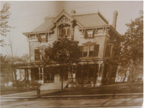 Built in 1887 by Theodore Hastings Ward, an early president of the  Bloomfield Saving Bank, the Victorian style home has been recognized by the  Society of ...